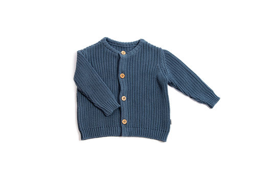Monkind - Knitted Indigo Cardigan (MKN-02B)