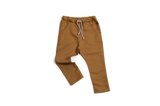 Monkind - Sienna Pocket Pants, Brown (MK041-SL)