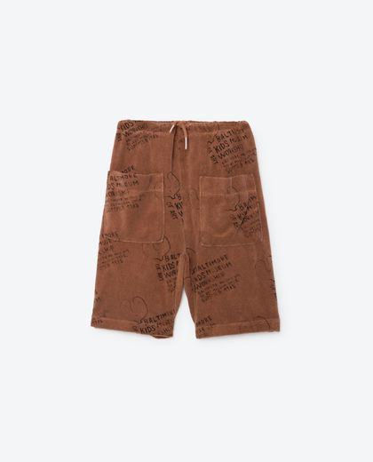 TAO - Kids museum bermudas, brown