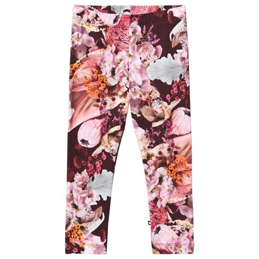 Molo kids - Niki leggings, Winter bouquet