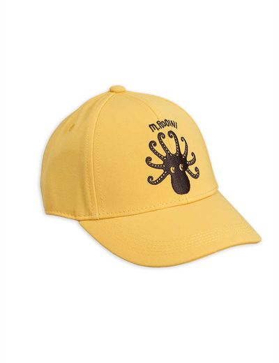Mini Rodini - Octopus cap, yellow