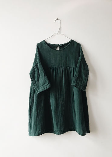 Monkind - Moss Twirl Dress, Moss Green