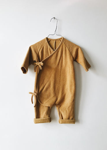 Monkind - Golden Wrap Overall, Gold