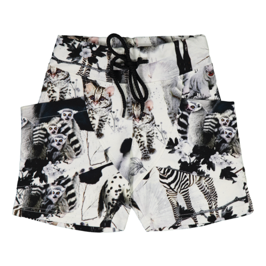 Gugguu - Print shorts, baby animals