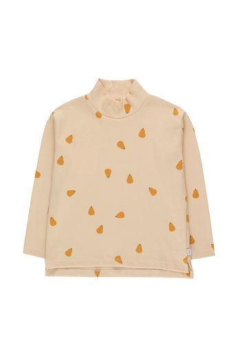 "Tinycottons - ""PEARS"" MOCKNECK TEE cream/honey"