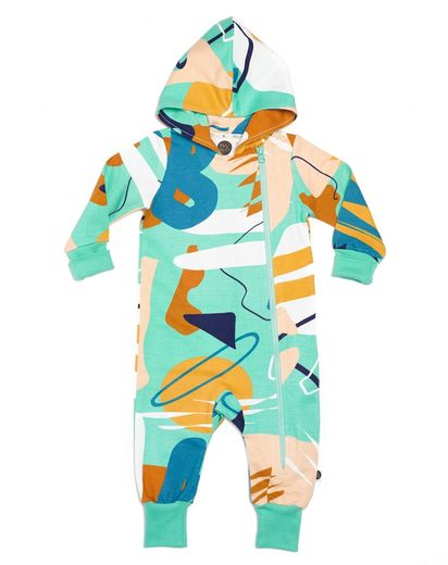 Mainio - Performance hooded jumpsuit