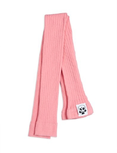 Mini Rodini - Ribbed leggings, pink