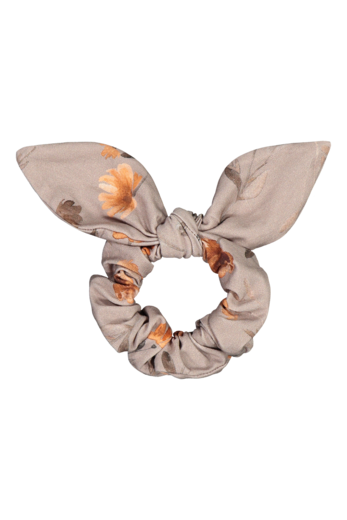 Kaiko - Bow scrunchie, poppy field