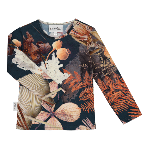 Gugguu - Print shirt, Fall pampas