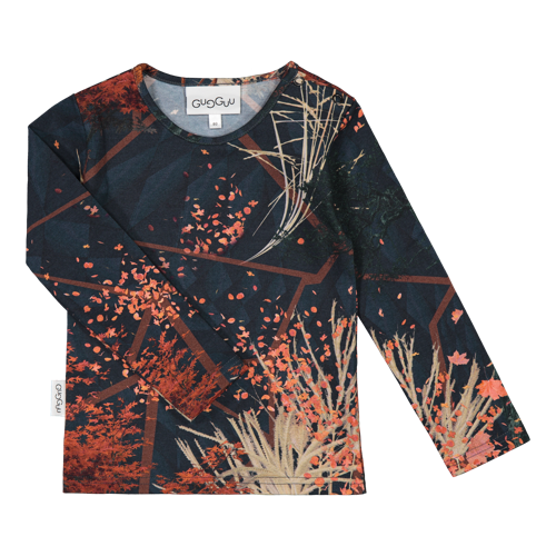 Gugguu - Print shirt, Autumn field