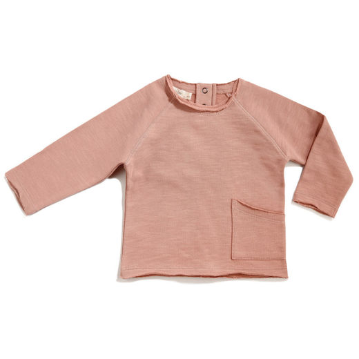 Phil&Phae - Raw edged sweatshirt, Dusty blush