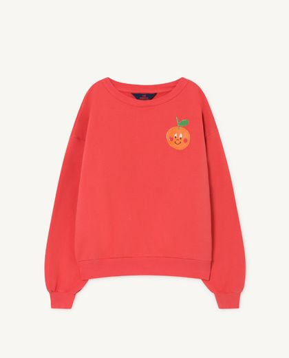 TAO - BEAR KIDS SWEATSHIRT, red fruit 001139 006_PR