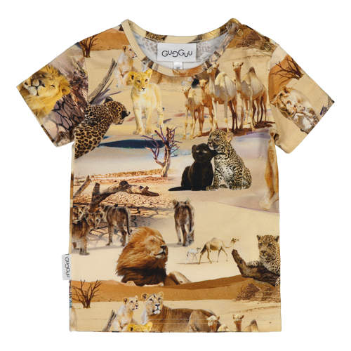 Gugguu - Print T-shirt, safari ride