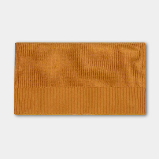 Repose AMS - Knitted scarf, warm yellow