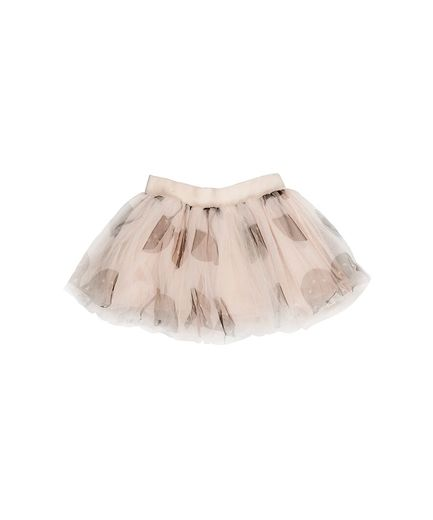 Huxbaby - Shell tulle skirt