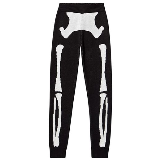 Beau LOves - Knit pants, skeleton