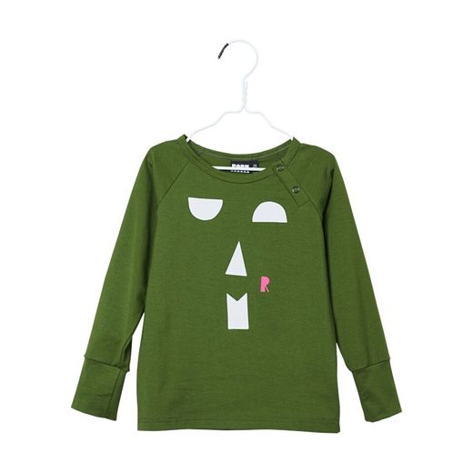 Papu - Snap shirt, forest green