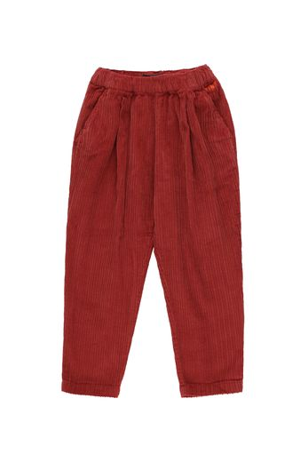 Tinycottons - SOLID PLEATED PANT dark brown