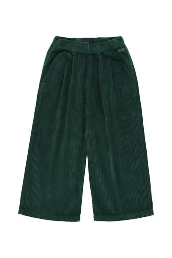 Tinycottons - SOLID WIDE PANT dark green