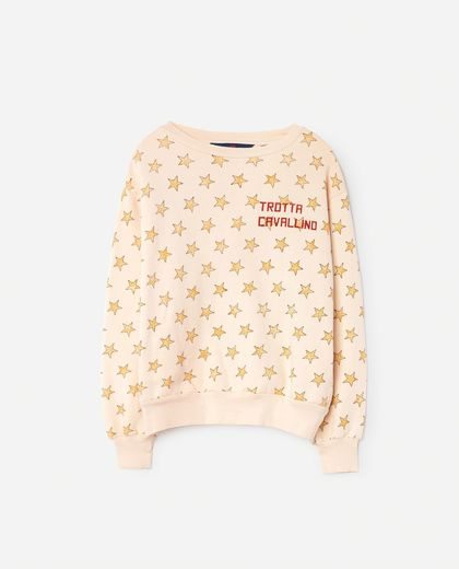 TAO - Bear babies sweat shirt, salmon stars