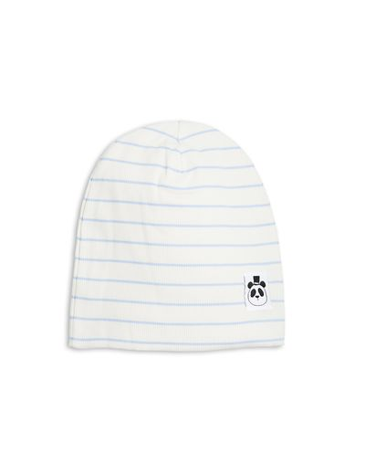mini rodini - Stripe beanie, lt blue