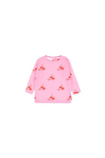Tinycottons - 'CANDY APPLES' SURF TEE  pink/red