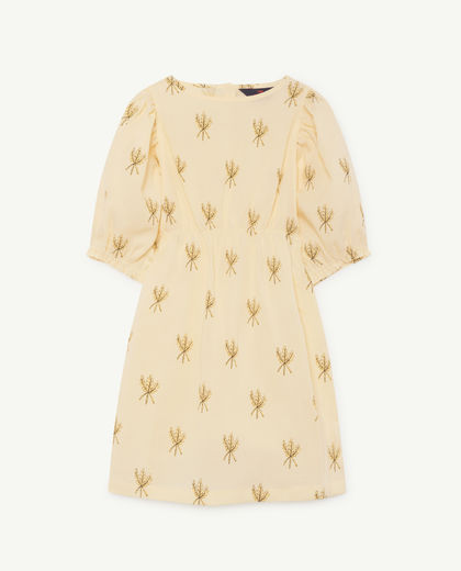 TAO - Swallow kids dress, yellow wheat 000934-081