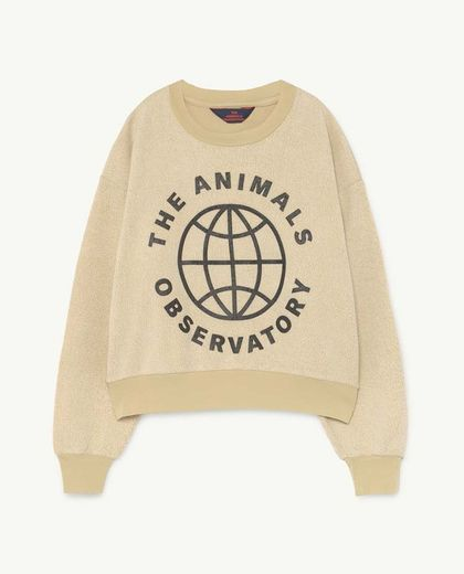 TAO - BEAR KIDS SWEATSHIRT Yellow Planet
