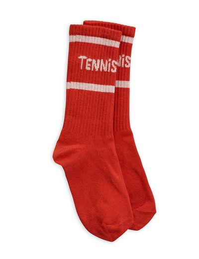 Mini Rodini - Tennis socks, red