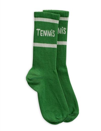 Mini Rodini - Tennis socks, green