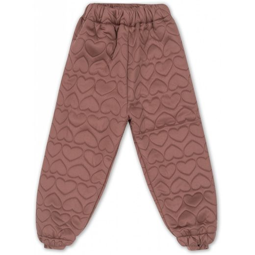 Konges Slojd - Thermo pants jersey, cinnamon