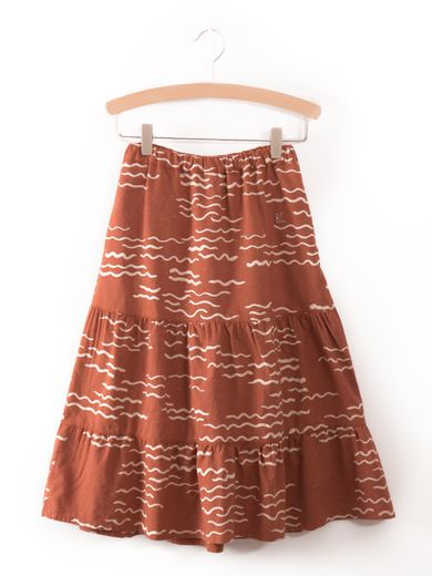 Bobo Choses - Long Skirt tide, dusty