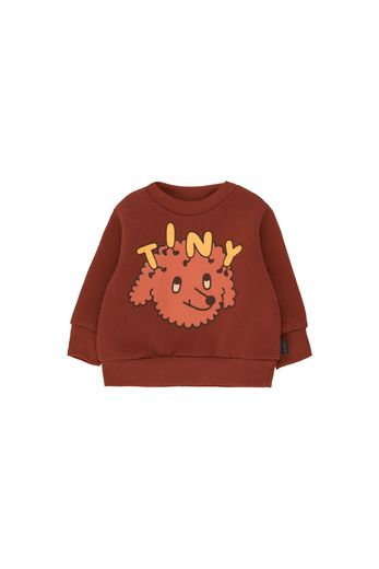 "Tinycottons -  ""TINY DOG"" SWEATSHIRT dark brown/sienna"