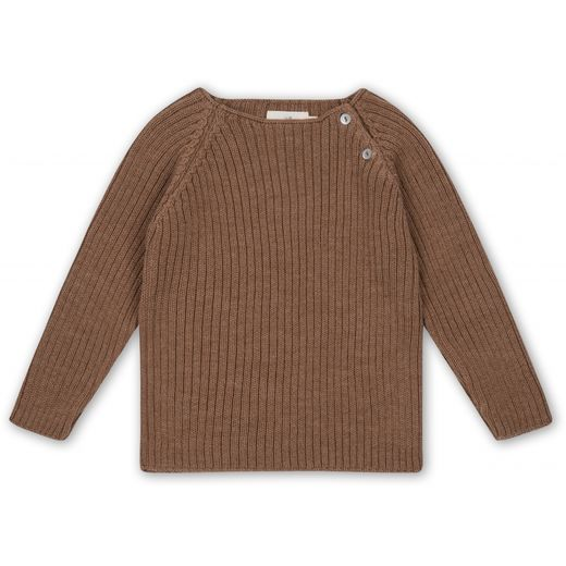 Konges Slojd - Toma knit blouse, almond