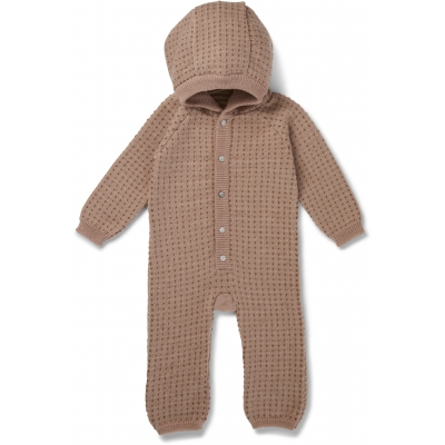 Konges Slojd - Tomama onesie, rose blush/honey comb