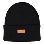 Gugguu - Basic knitted beanie, black