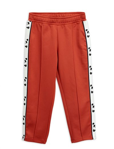 Mini Rodini - Panda wct pants, red